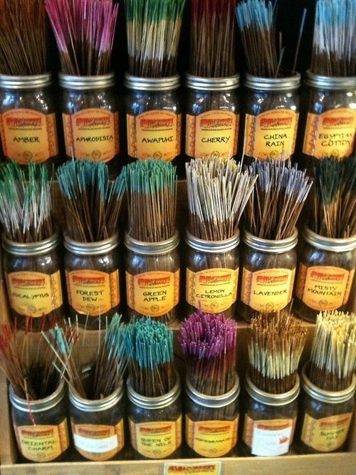 Use Mediation an Burning incense to help create powerful good energy to enter your life.