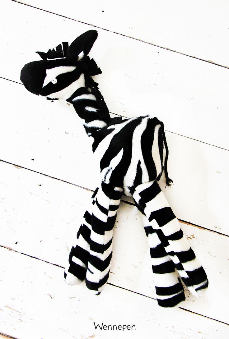 knuffel zebra