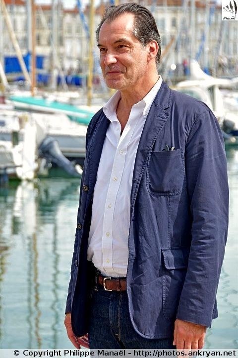 """Samuel Labarthe (""""Les Petits Meurtres d'Agatha Christie"""") - Festival de la fiction TV de La Rochelle 2015"""