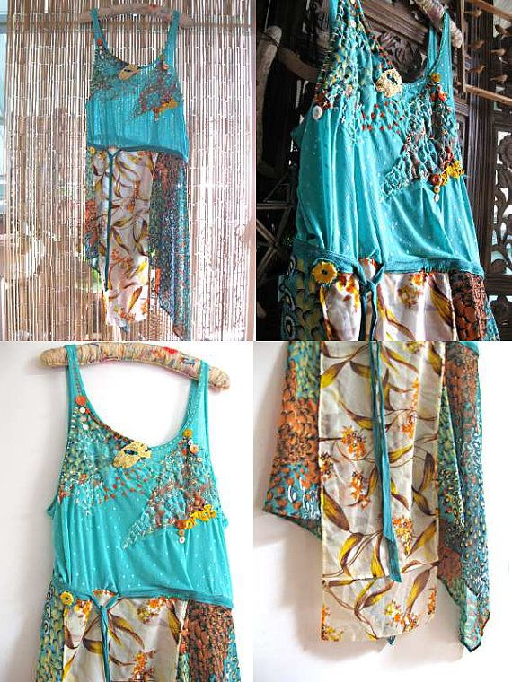 Angel Kiss Dress Turquoise Blue Hand by AllThingsPretty on Etsy, $245.00