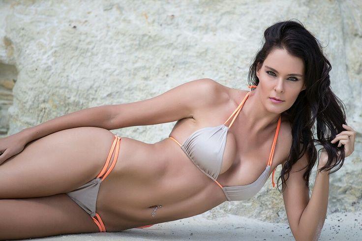 Bronze & Orange Cancun bikini