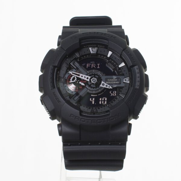 Authentic Casio G Shock GA110MB-1A Military Style Watch Black Fast Shipping