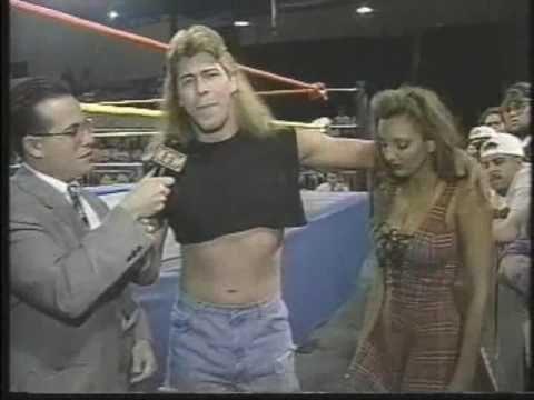 ECW Beulah, Raven & Stevie Richards 1995