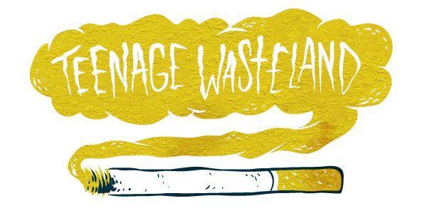 Teenage Wasteland by Niklas Coskan, via Behance