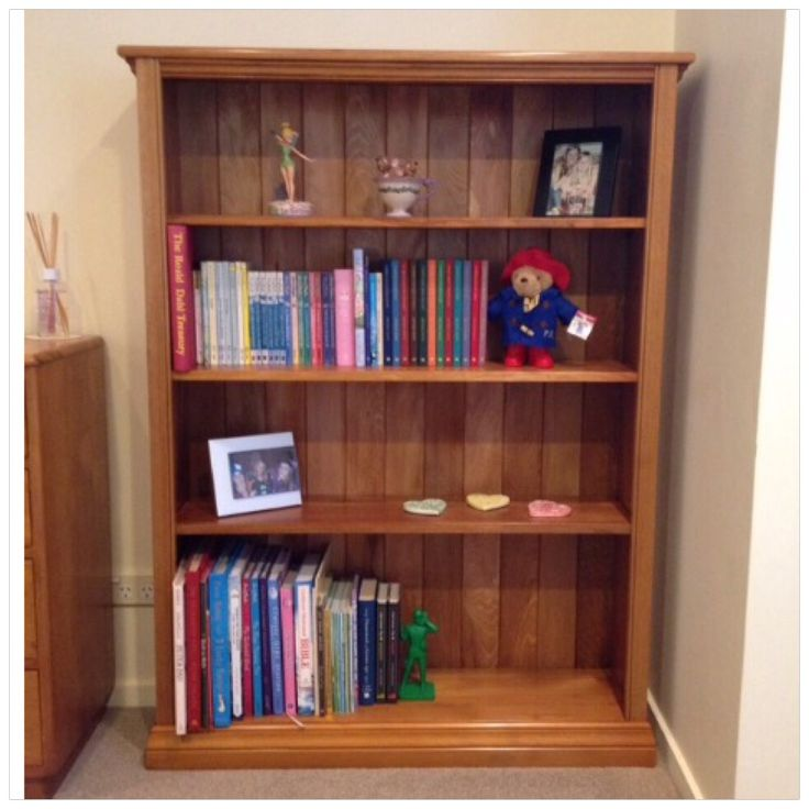 Recycled Rimu bookcase made by Barry