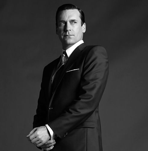 """""""I try to imbue Don with a humanity that is raw and misunderstood and meaningful"""" - Jon Hamm"""