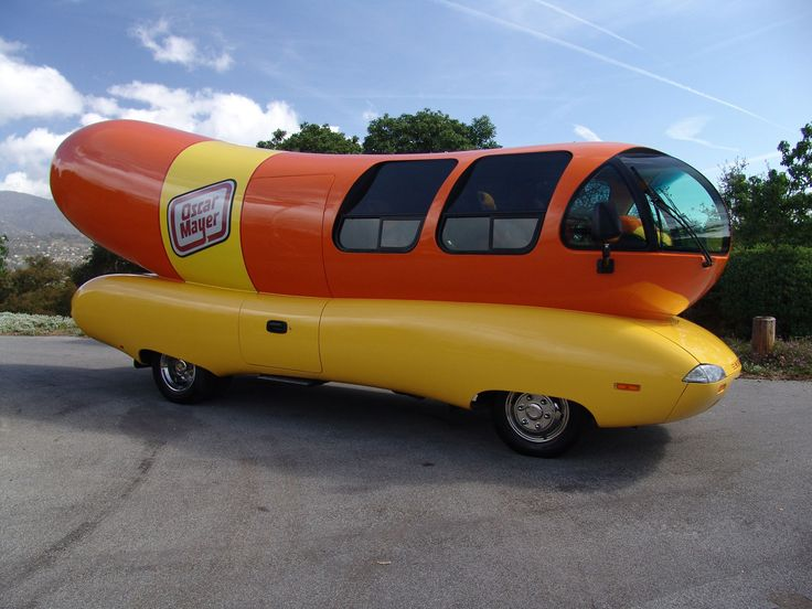 Wisconsin...In the land of cheese I saw 2 oscar mayer weiner mobiles!!!  And I sang at the top of my lungs the song...which my parents sadly recorded....wayyy to embarrassing to post lol :)