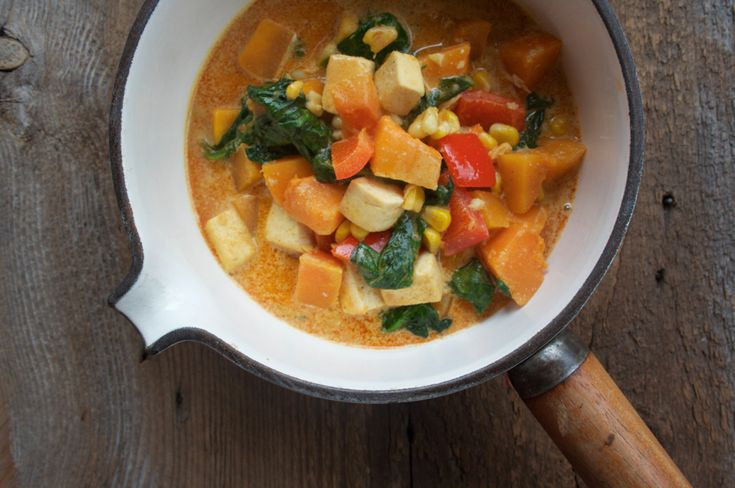 Infinitely Adaptable Coconut Curry