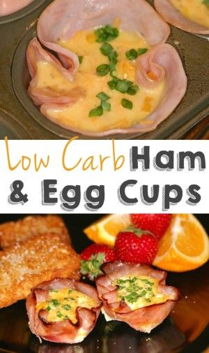 #5 Egg-Stuffed Ham Cups (Low carb and SO good!) -- 30 Super Fun Breakfast Ideas Worth Waking Up For