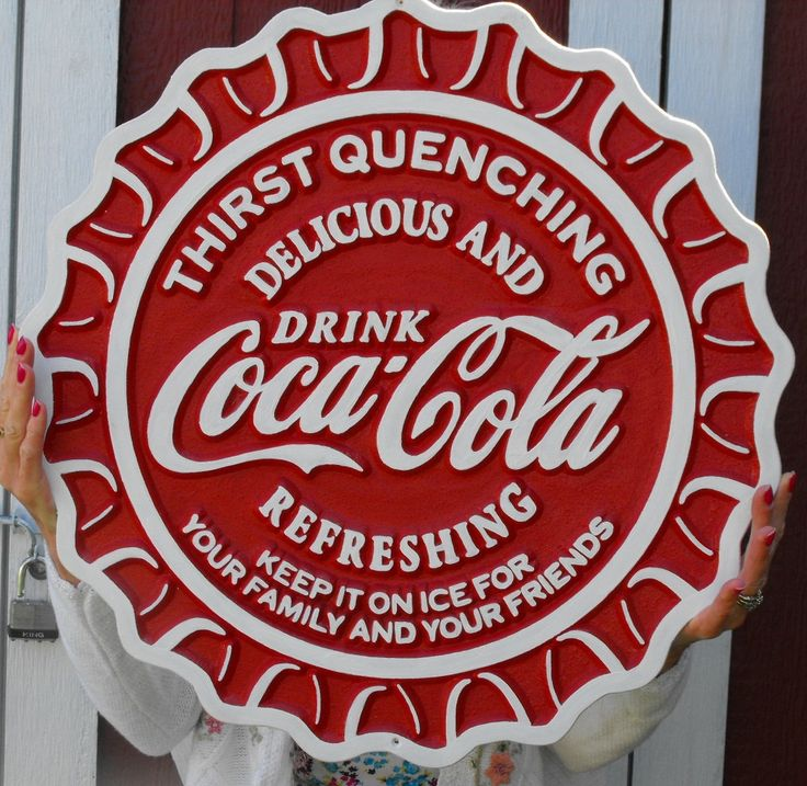 coca cola signs | Coca Cola Carved Wood Sign by cassedywooddesigns on Etsy