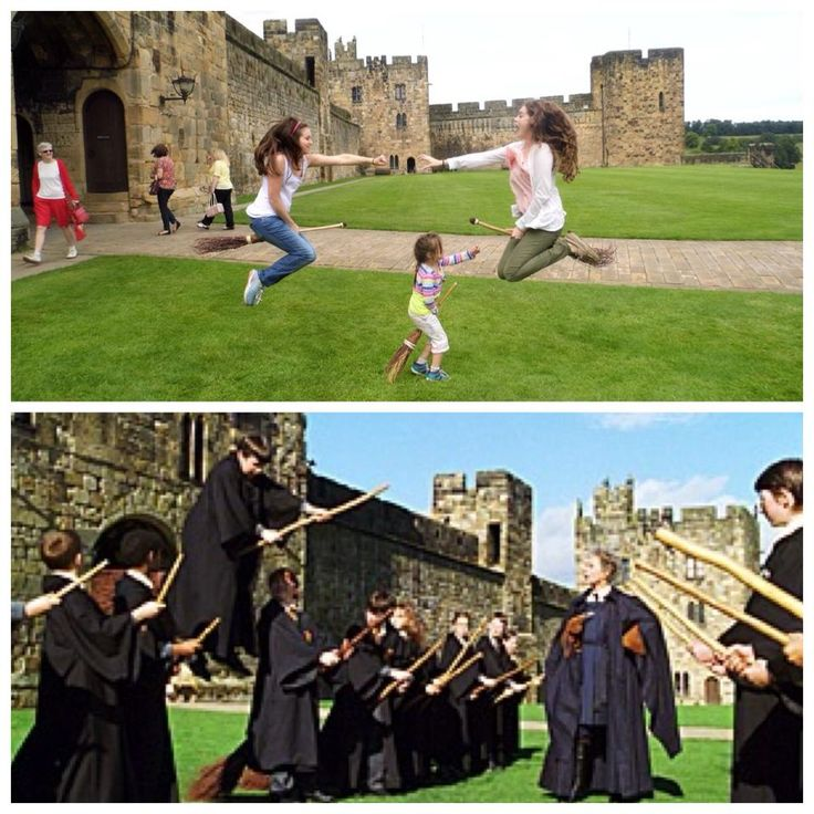 Any Harry Potter Fan will want to visit Alnwick castle, it is where they filmed some of the flying scenes. // Movies and Shows that inspired me to visit a place. #TravelTuesday via @Dianaelleblog