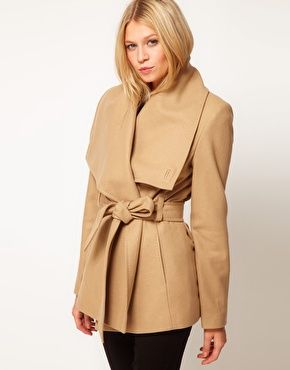 Ted Baker Coat in Camel or Black, absolute beaut.