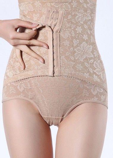 Hidden Clasp Empire Waist Shapewear Panty