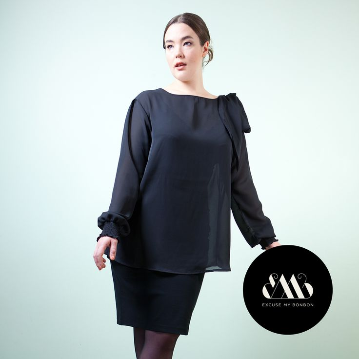 Olga Blouse & Cat Pencil Skirt Photo: Sanna Saastamoinen-Barrois & Jeremy Barrois Make up: Janne Suono Model: Ninja Sarasalo