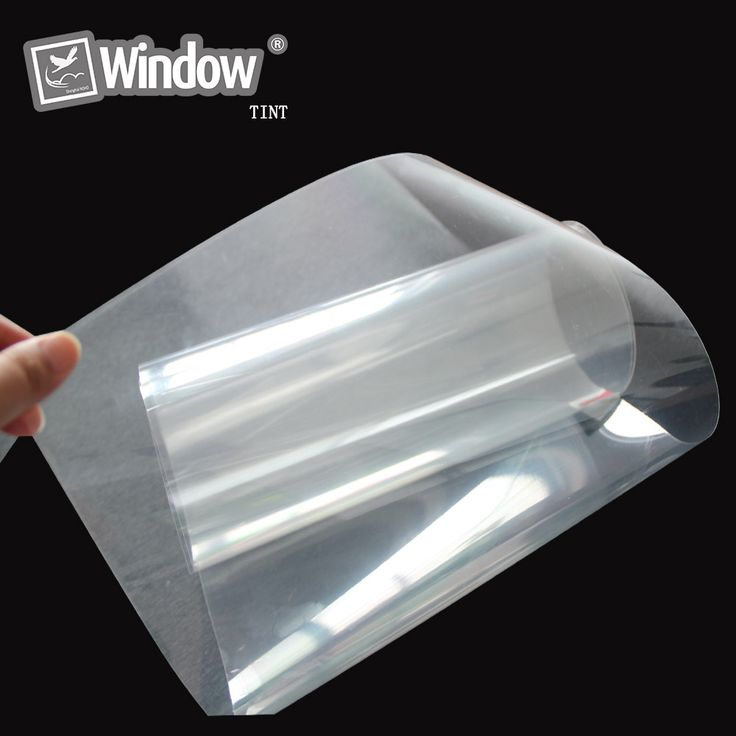 """Transparent 4 Mil Safety Window Film 20"""" x 20' feet Roll Home, Office Glass"""