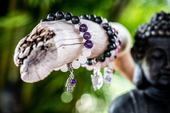 SPIRITUALITY | Aromatherapy Gemstone Diffuser Bracelet