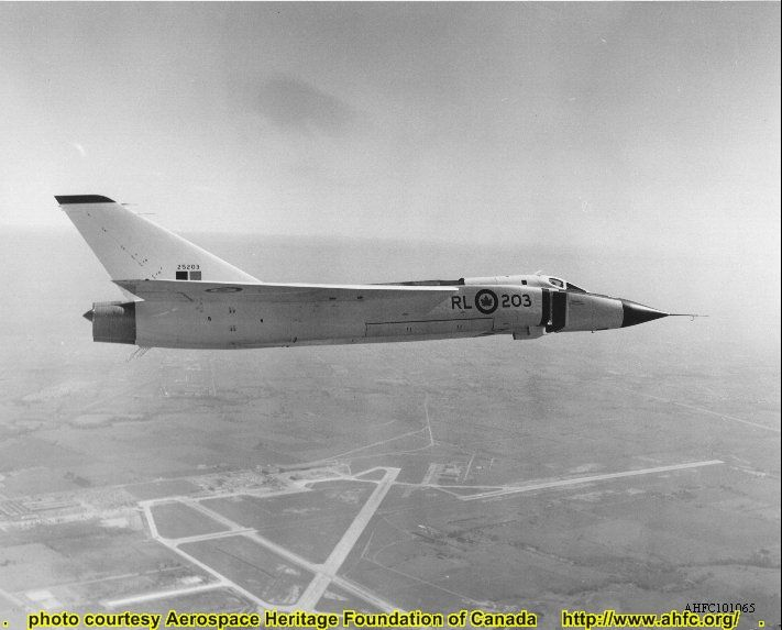 91065 Avro Arrow RL-203 over Malton Airport | by 3425Capricorn