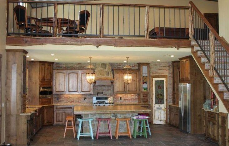 Cool And Simple Loft For Barndominium Barndominium Interior Barn House Plans Loft Floor Plans