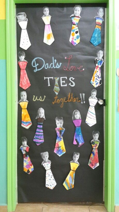 Father S Day Door Father S Day Pinterest Ties Paper