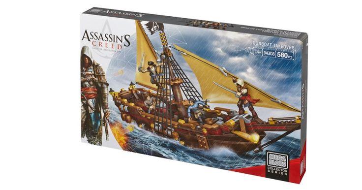 Assassin's Creed - Gunboat Takeover | Mega Bloks - Assassin's Creed