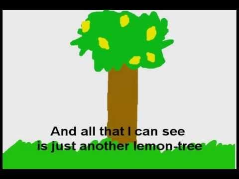 ▶ LEMON TREE  Song to teach the present continuous tense.