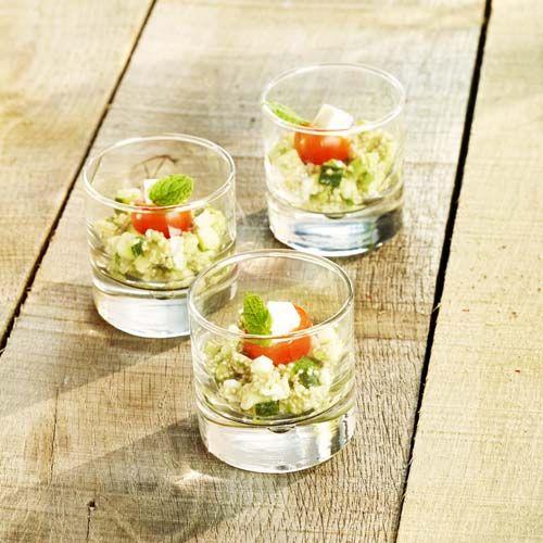 Quinoa met feta en kerstomaat - Colruyt Culinair !