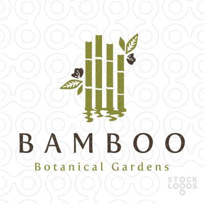 Logo: Bamboo Botanical Gardens - Designer: Melanie D