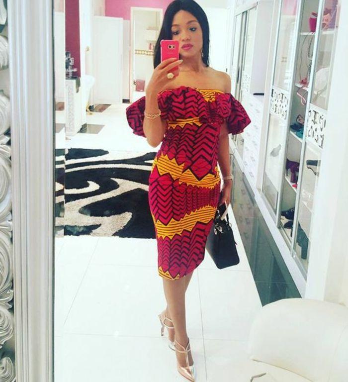 Model pagne africain modele robe en pagne tendance