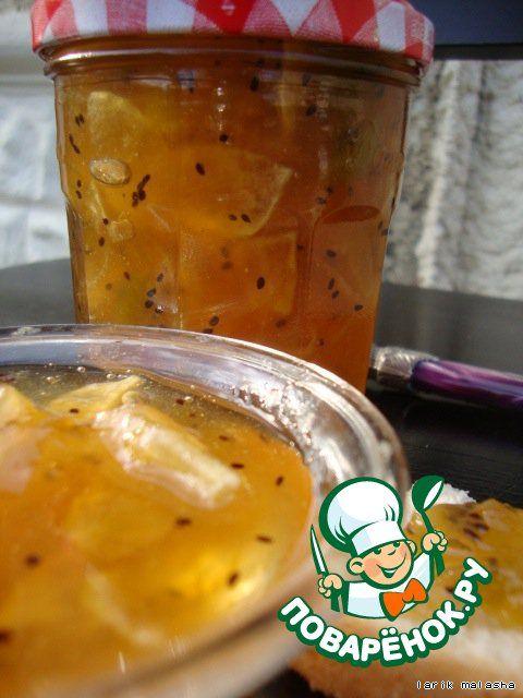 + Варенье из яблок и киви - кулинарный рецепт