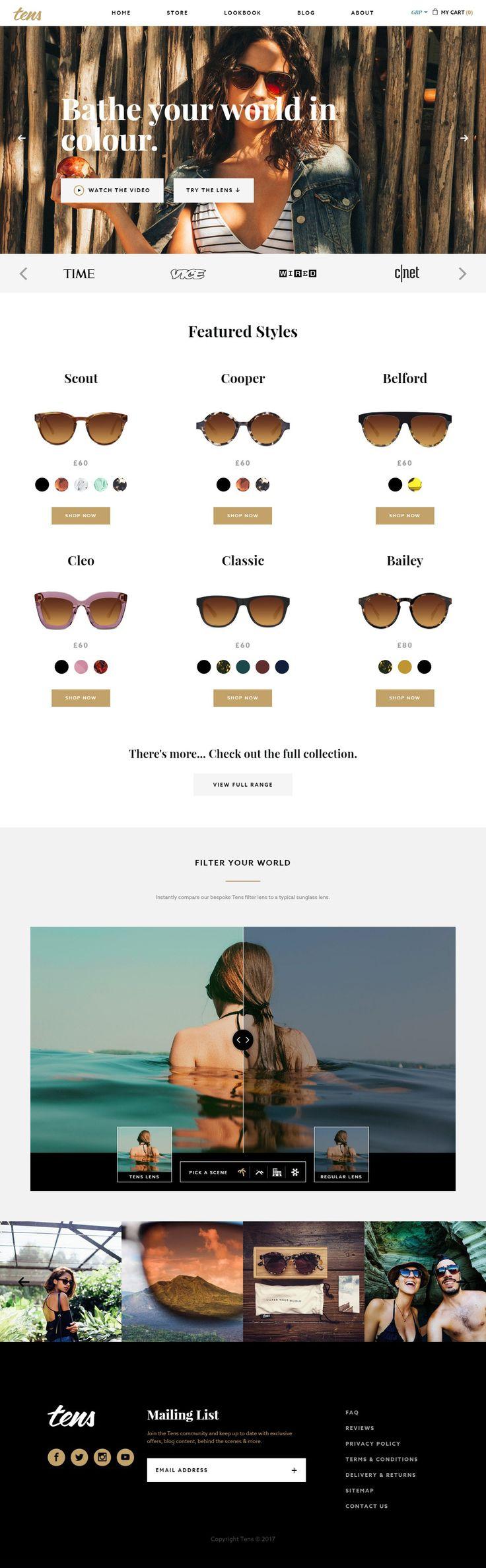 Tens Sunglasses SANKOU!