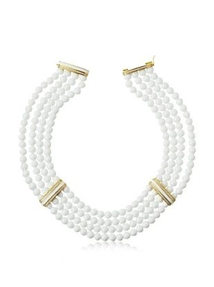 66% OFF Jardin 4 Row Beaded Necklace