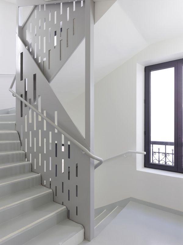 20 Social Housing In Paris / H2o Architectes Nice Ideas