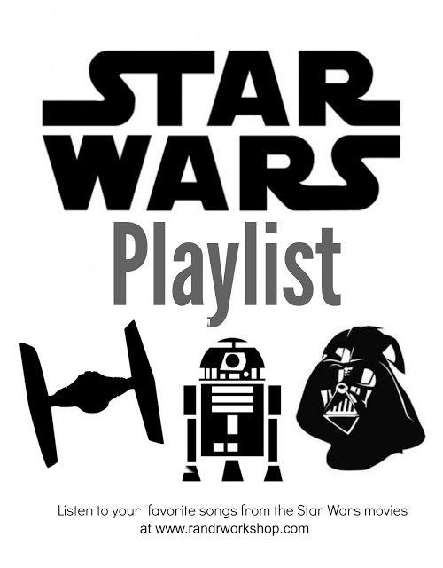 Favorite Star Wars Songs- Playlist (mobile friendly)
