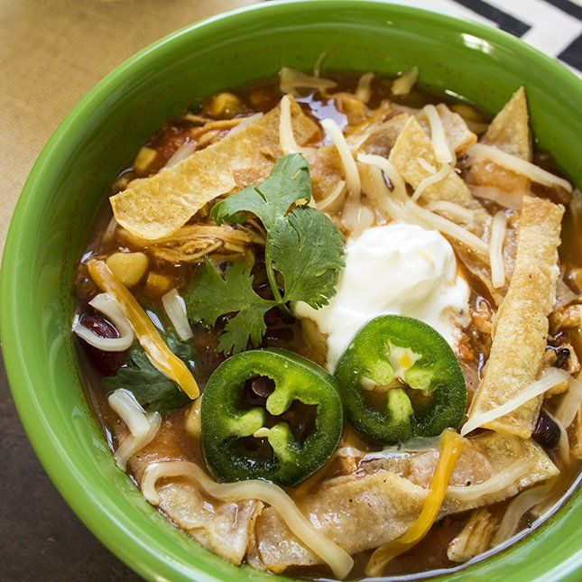 Soup: Chicken Tortilla Soup, Skinny Mom, Slow Cooker Chicken, Crockpot ...