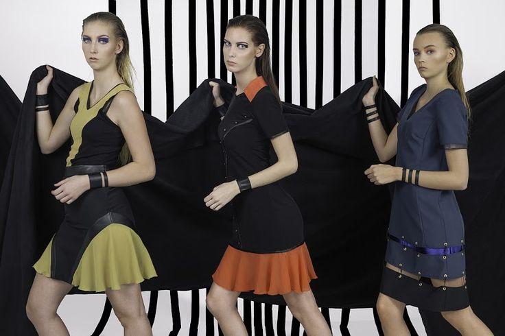 Clothes: Gabrielle Tamasciuk Photo: Magnus Haaland Make-up: Sarah Choucair Models: Caroline, Kajsa, Laura (Rebel Models)