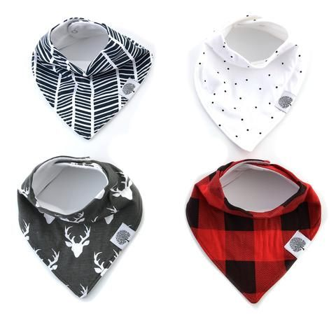 Lumberjack Bandana Bib Set - The Good Life Ltd. - 1
