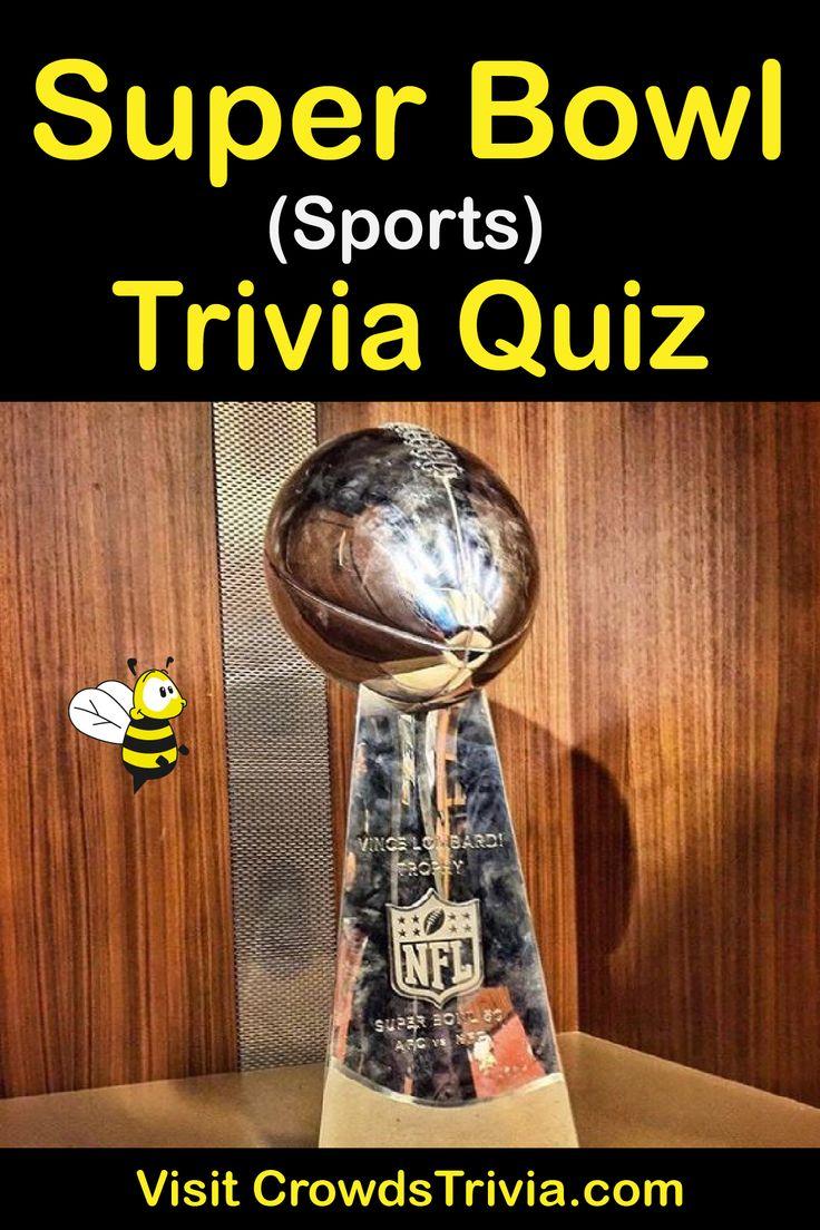 Super Bowl Trivia Quiz Questions and Answers Fun