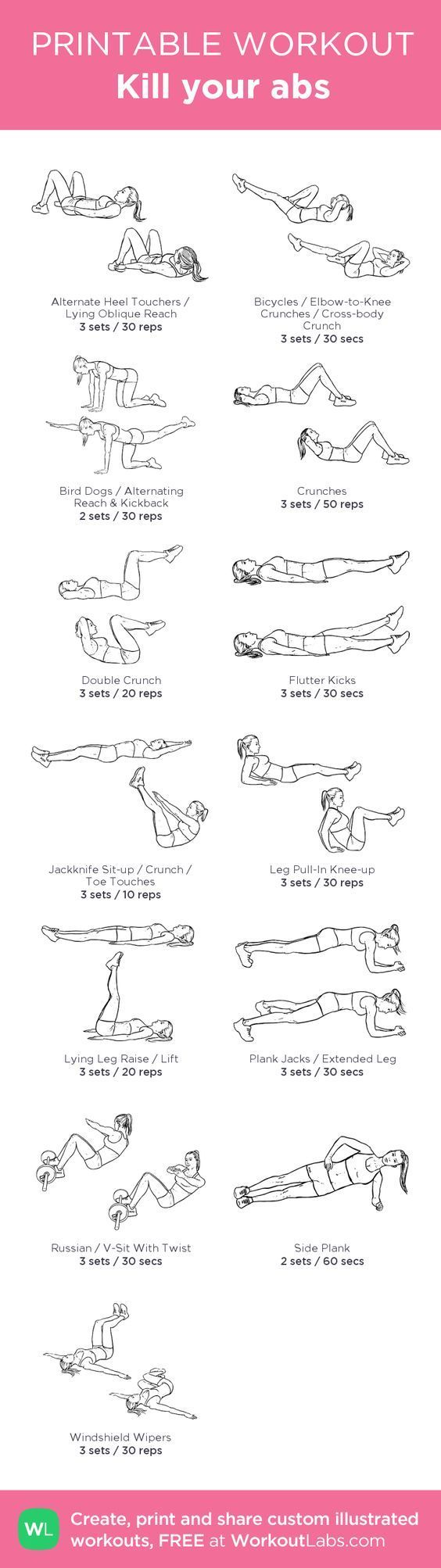 Have you continued to stick to your new years resolution, whatever it may be? If it was to lose weight and flatten your stomach or simply start to get into a healthier mindset, we're here to help. Here are 14 amazing ab workouts that will help you strengthen your core and develop those muscles that … #absworkout