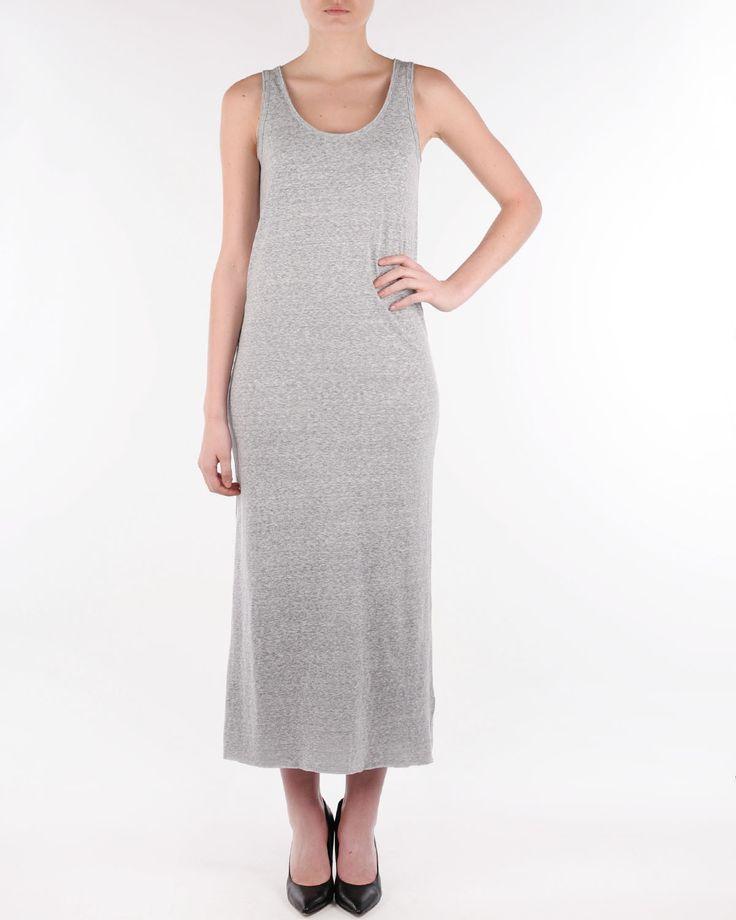 American vintage Skanea zinc melange dress SKA48 - Mekot Zoovillage