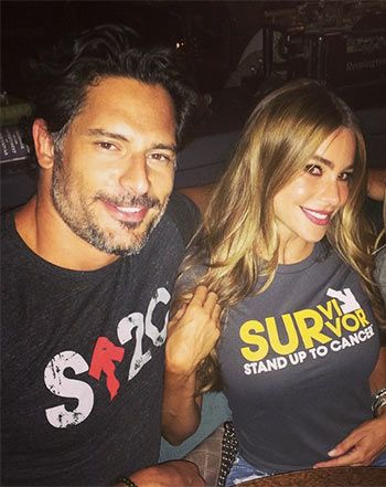 A new reason to adore Sofia Vergara - fellow thyroid cancer survivor...Sofia Vergara, Joe Manganiello, Reese Witherspoon Stand Up to Cancer - Us Weekly