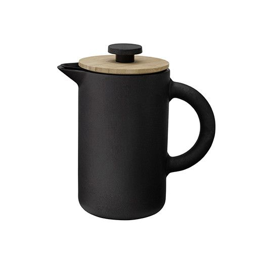 Designed by Francis Cayouette for Stelton Denmark, the award-winning Theo collection is modern design with a distinctly Scandinavian feel. To avoid coffee stains, the Theo French press is designed wit