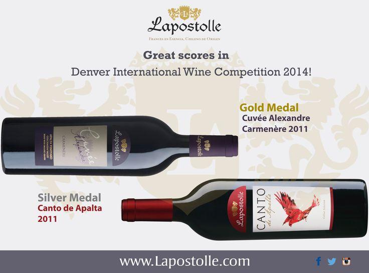 Denver International Wine Competition 2014.