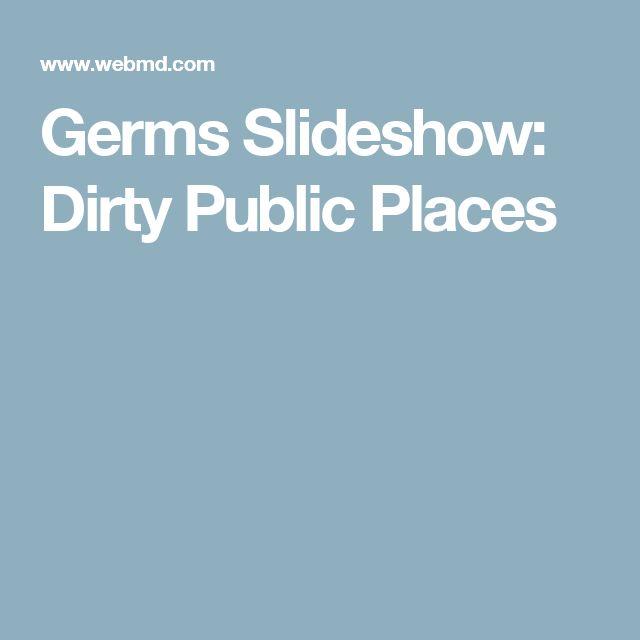 Germs Slideshow: Dirty Public Places