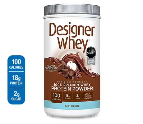 This is a new product I've been using with Soymilk for a meal replacement. It fills you up and has great vitamins and no artificial sweetners. It tastes great in cold milk. I have two of these shakes a day to replace a meal and a snack.  The pounds are coming off!