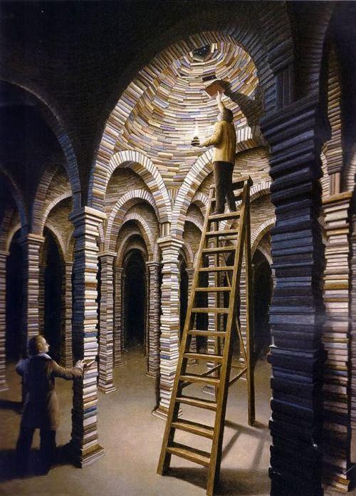 .books galore.