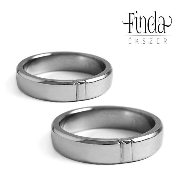 Pure nemesacél karikagyűrű