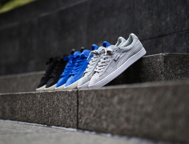 "#Puma States ""Perforated Pack"" #sneakers"
