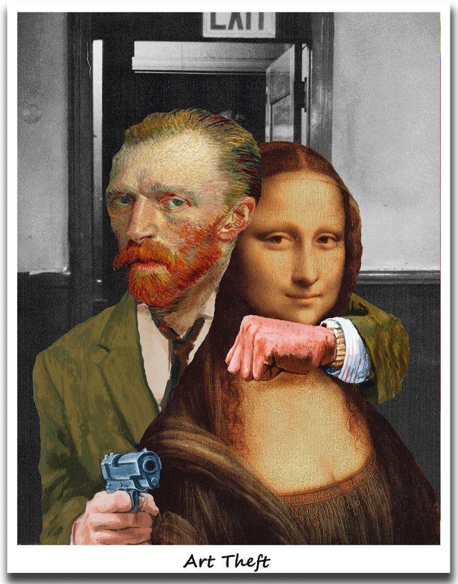 Art Theft Mona
