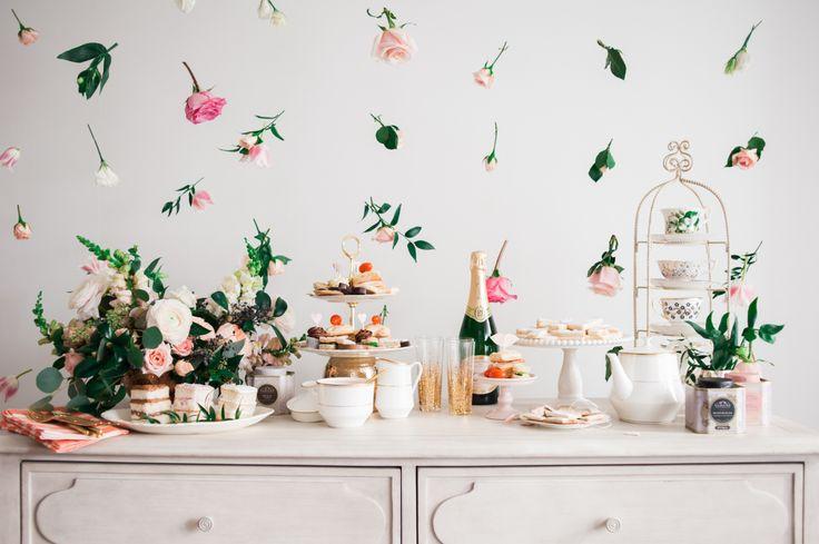 A tea time Galentine's Day party: http://www.stylemepretty.com/2016/02/13/a-tea-time-galentines-day-party/ | Photography: Heidi Lau - http://www.heidilau.ca/