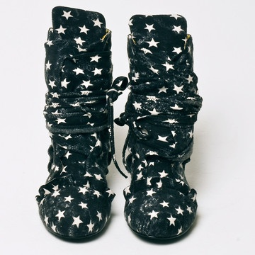 Stars in the Sky boots by Alessandra Gold